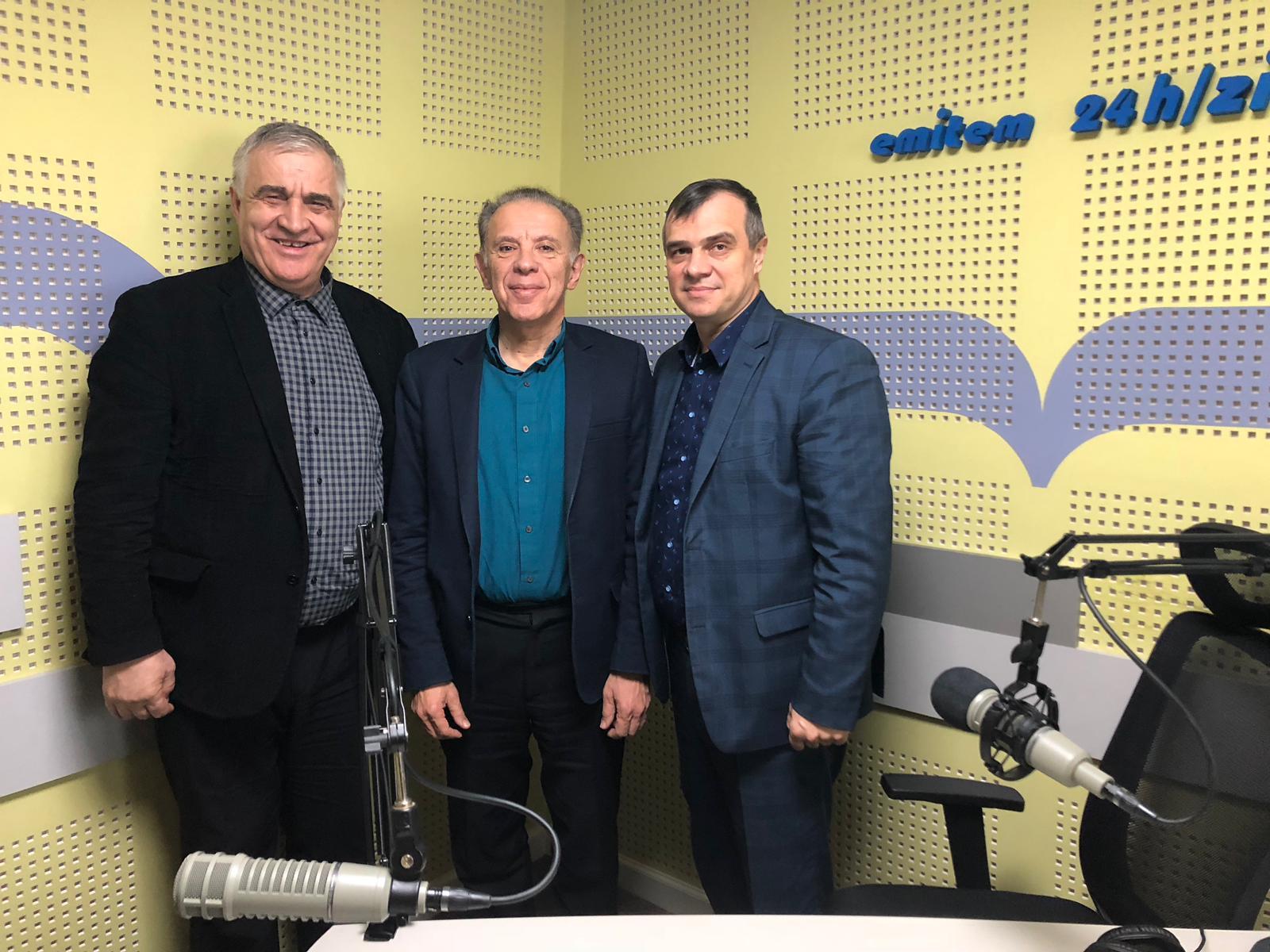 Kameel Majdali, Pavel Antonesei si Daniel Grigoriciuc